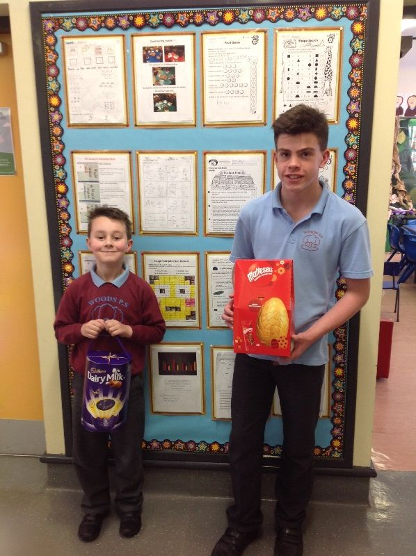 Proud winners of the Easter Games! Well done!